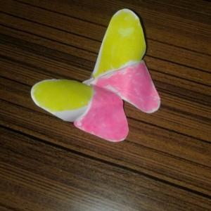 Оригами-бабочка.